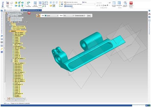 La modélisation de pièces numériques 3D se fait soit par l'intermédiaire d'un scanner 3D , soit grâce à un logiciel de modélisation.